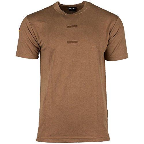 BW Tropen T-Shirt mit Hoheitsabzeichen Coyote Größe S