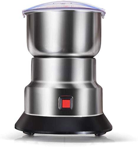 LILAODA Getreidemühle Haushaltskornmühle Gewürze und Kaffeemühle 60 Sekunden Herstellung der Feinpulver-Edelstahlmühle 150G Perfect