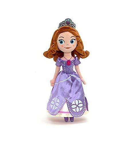 DOUFUZZ 50/70cm Sofia Prinzessin Puppe Plüsch Spielzeug gefüllt eisern Soft Toys Puppen für Baby Kinder Paare 70cm Blau