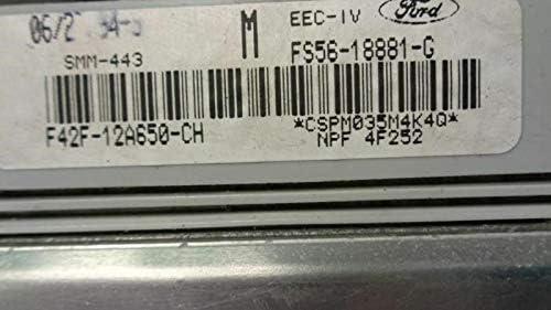REUSED Max 61% OFF PARTS 94 Mazda ECM 4033 Engine Cronos Popular popular