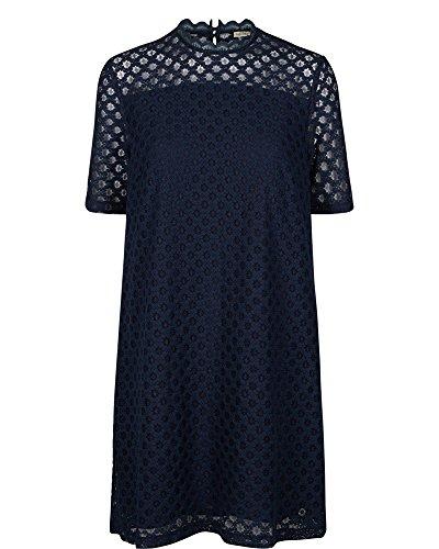 nümph Damen Kleid Majesta Dress, 7416820, Caviar (Black), Größe 34/XS