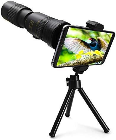 4K 10 300X40mm Super Telephoto Zoom Monocular Telescope Night Vision Monocular Binoculars for product image