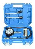 CNWOOAIVE Medidores de Compresión de Cilindro de Motor de Gasolina de Moto Automática, 0-20 Bar 0-300 PSI