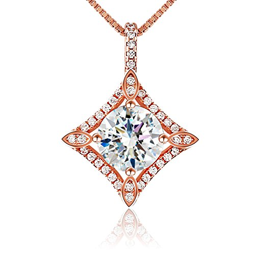 Necklace, 925 Sterling Silver Pendant Necklace J.Rosée Fine Jewelry for Women