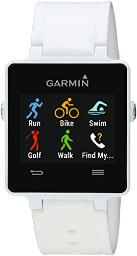 Garmin vívoactive White Bundle (Includes Heart Rate Monitor)