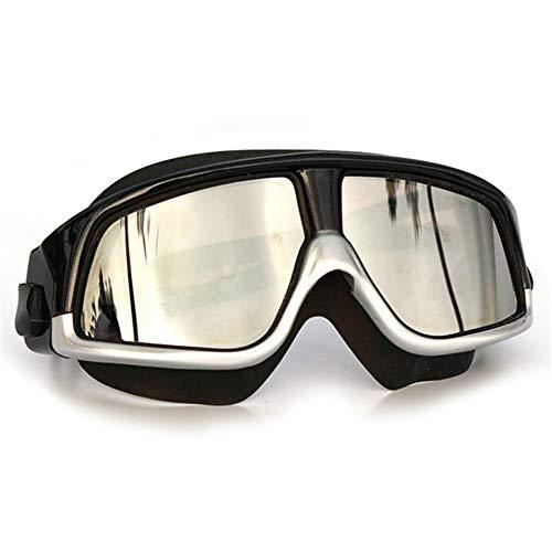 LCBYOG Gafas de natación para Adultos antiiezno Gafas de Buceo Silicona Gafas de Agua para Mujeres Hombres Gafas De NatacióN (Color : Green)