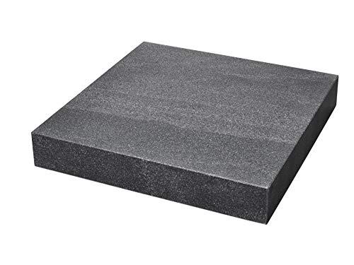 WABECO Granit Messplatte 450x450x75 Prüfplatte Tuschierplatte Messtisch Anreißplatte