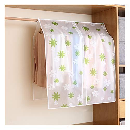 YPSOU Garment Covers, PEVA Material Clothes Dust Cover,Coat Covers Garment Bags for Travel, Dresses, Coats, Luggage, Linens, Closet(Size:90×120cm,Color:Sun Flower)