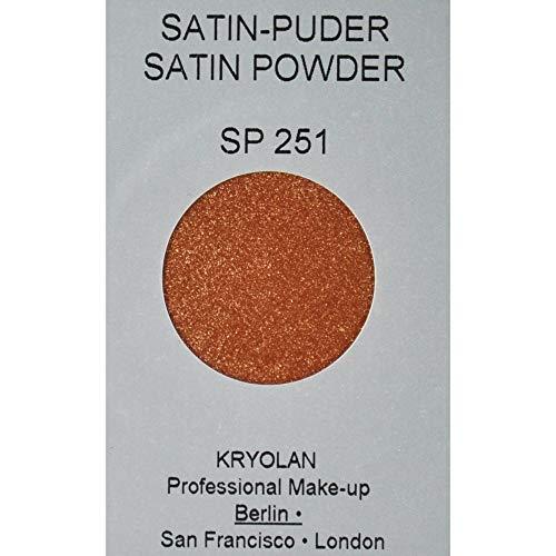 Kryolan 05741/00 Satin Puder irisierend 3g SP 251 Braun