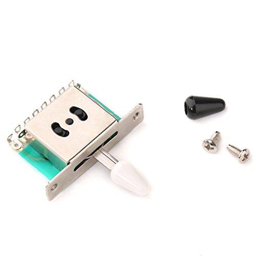 Musiclily Tamaño Métrico Toggle Switch Interruptor de Palanca 5 Posiciones para Strat Tele Guitarra Electrica