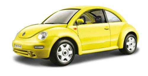 Bburago 18-22029, Vw New Beetle 1:24, Colori Assortiti