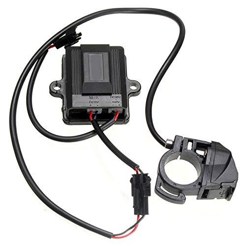 LWQ Puerto USB del Coche Eléctrico De Bicicletas Dynamo, Adaptador De Cargador Generador De 36-100V Coche Eléctrico Eléctrico Accesorios De Bicicletas