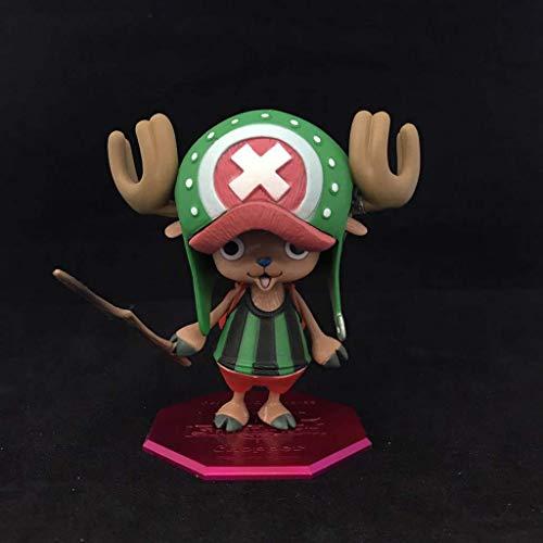 MxZas Choba Juguete Estatua de una Pieza Carcter Modelo de Juguete de Dibujos Animados de Escritorio Decoracin Set 4 (Color: D) Jzx-n (Color : B)