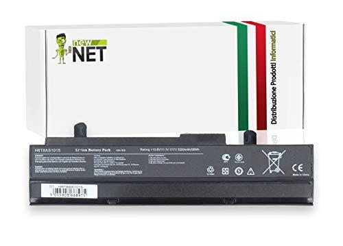 New Net Batteria A31-1015 A32-1015 AL31-1015 AL32-1015 compatibile con Asus EeePc 1015PX 1015T 1215 1215B 1215BT 1215N 1215P 1011B 1011BX 1011C 1011CX 1011H 1011HA 1011P 1011PX [10.8-11.1V - 5200mAh]