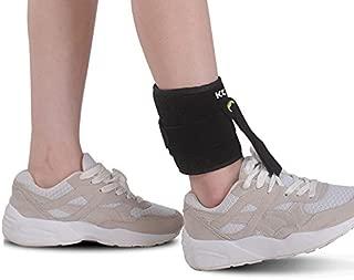 KONMED Adjustable Drop Foot Orthosis Support AFO AFOs Brace Strap Elevator Poliomyelitis Hemiplegia Sroke Universal Size