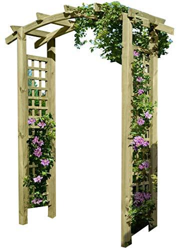 Gartenpirat -   Eingangspergola