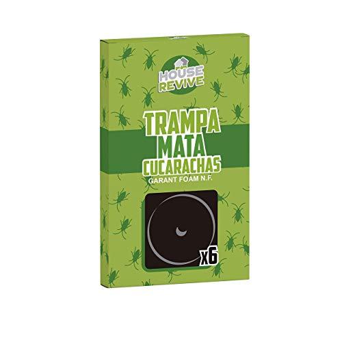 House Revive - Trampa Mata Cucarachas - 6 Uds.