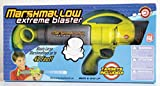 Marshmallow Fun Company Zing Marshmallow Shooter - Extreme Blaster Green & Gray Color with Targets