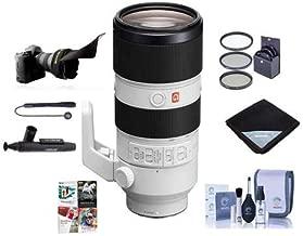 Sony FE 70-200mm f/2.8 GM (G Master) OSS E-Mount Lens - Bundle with 77mm Filter Kit, Flex Lens Shade, Cleaning Kit, Lens Wrap, Lenspen Lens Cleaner, Capleash, PC Software Package