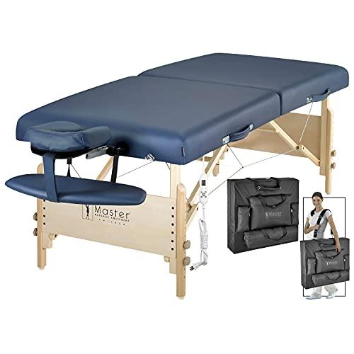Master Massage 30' Coronado ThermaTop Massage Table Portable Heated, Heating Folding Massage Therapy...