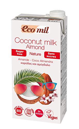 Nutriops Ecomil Coco Eco Almendra Nature 1L Sin Azucares