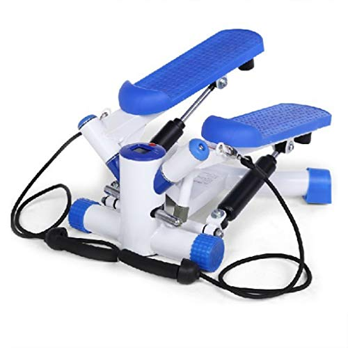 KY Mini-Stepper Swing Stepper Indoor Multifunctional Stepper Waist Twist Pedal Machine,mute Hydraulic Pedal Machine Send Drawstring