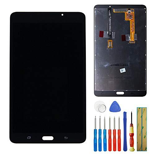 E-YIIVIIL Display LCD compatibile con Samsung Galaxy Tab A 7.0 2016 WiFi SM-T280 Display Touch Screen Screen Digitizer Vetro Assembly + Strumenti (Nero)