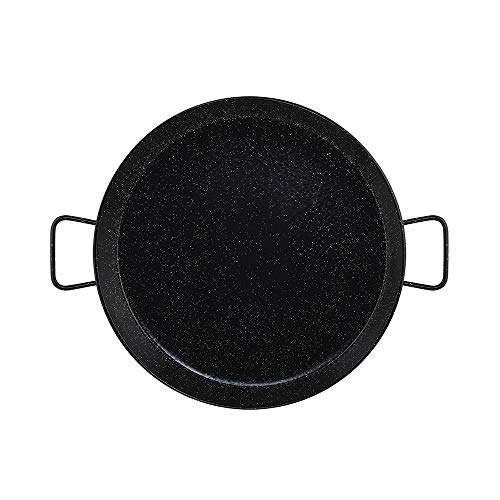 Metaltex - Paellera Acero Esmaltado 13 Raciones 50 cm