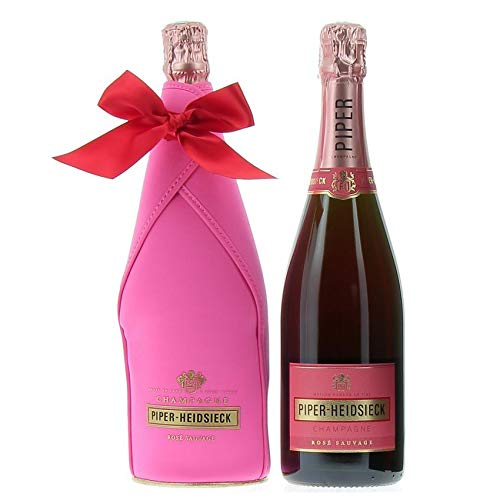 PIPER-HEIDSIECK CHAMPAGNE BRUT AOC ROSEE SAUVAGE JACKET TERMICO 75 CL