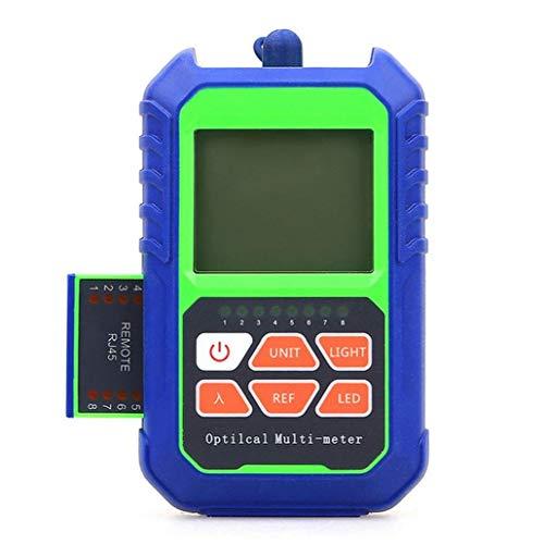 Medidor De Potencia Óptica De Fibra Óptica Probador Portátil Mini Prueba De Red Auxiliar De La Máquina De Alta Precisión Para El Probador De La Prueba De Encendido Azul