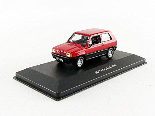 Solido–Fiat Panda–1990Coche en Miniatura de colección, 4303100, Rojo
