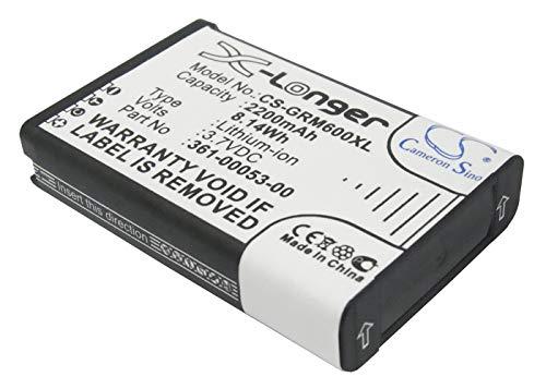 VINTRONS Battery Replacement 361-00053-00 Extended Battery for Garmin Alpha 100 Handheld, Monterra,