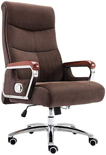 GSN - Sedia per computer Reclining, da ufficio, ergonomica, ad altezza regolabile, per gaming, con schienale alto, computer, sedia da ufficio e sedie (dimensioni: cassa)