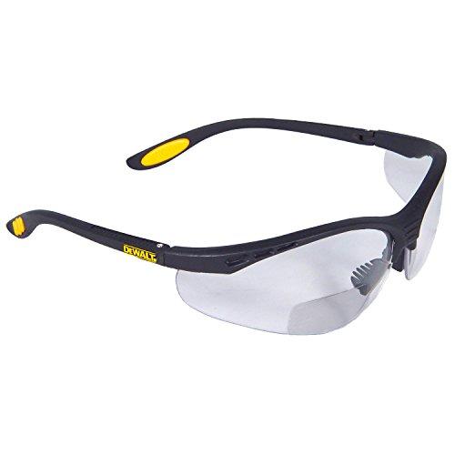 DeWalt DPG59-130D Reinforcer Rx Safety Glasses - Clear Lens 3.0 (1 Pairper Pack),Multi