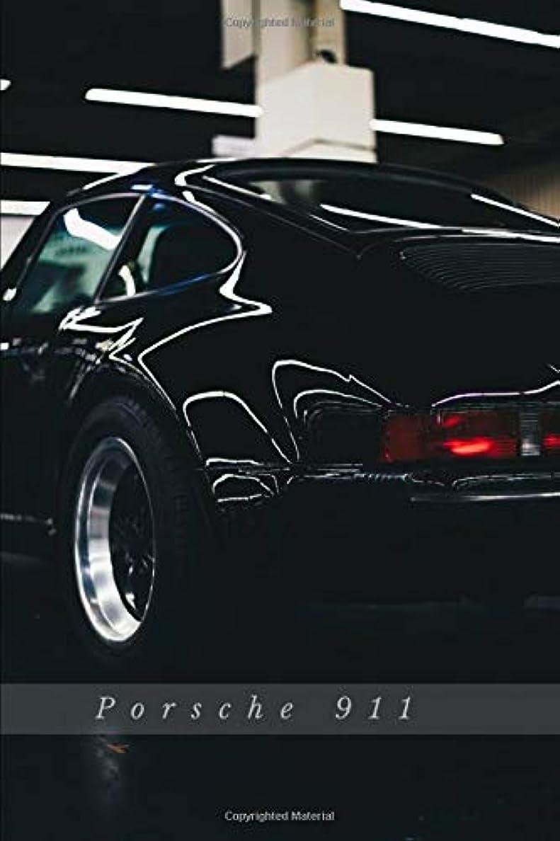 件名オーバーフローみぞれPorsche 911: Car Notebook for Drawing and Writing, Journal, Diary (110 Page, Blank, 6 x 9 inch, 15.24 x 22.86 cm) (Cars)