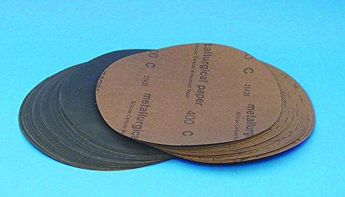 Silicone Carbide disc 8', PSA Back, 120 Grit, 25/PK