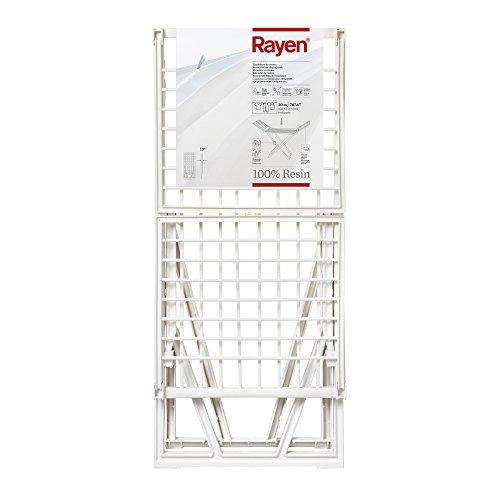 Rayen 0029.05 Tendedero, Resina, Blanco, 183x55x87 cm