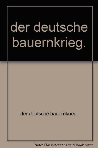 der deutsche bauernkrieg.