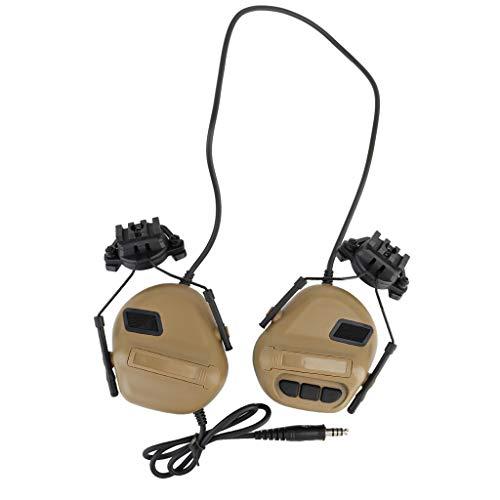 Jagd Outdoor Schießsport Headset Militär Helm Airsoft Paintball Headset CS Wargame Kopfhörer