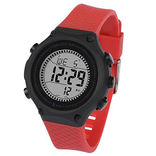 Reloj Niños Digital,Reloj Adolescente Impermeable con Deporte Digital al aire Libre con Reloj Despertador / Cronómetro / EL Relojes de pulsera Ligeros para Adolescentes Niños