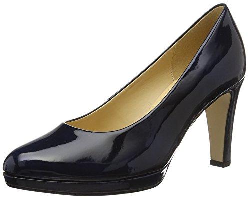 Gabor Shoes Damen Fashion Pumps, Blau (marine LFS natur 76), 37.5 EU (4.5 UK)