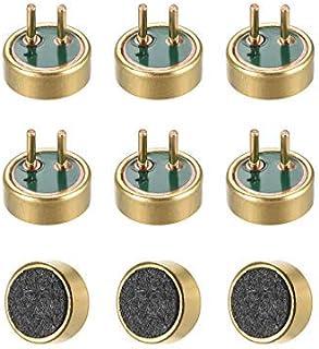 NA 4015 42dB Electret Pastilla de micrófono 4 mm x 1,5 mm condensador cilíndrico con pines para PCB 9 piezas