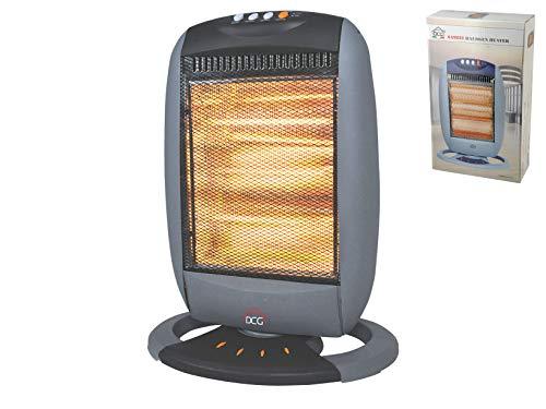 DCG Stufa elettrica alogena 400w 1200w Elettrodomestici per la casa