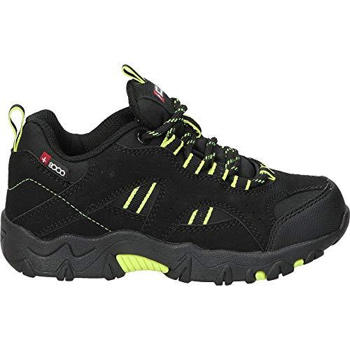 +8000 Tesen Trail Running Unisex Kinder Sneaker, Schwarz, 31 EU