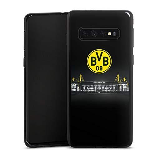 DeinDesign Silikon Hülle kompatibel mit Samsung Galaxy S10 Case schwarz Handyhülle BVB Stadion Borussia Dortmund
