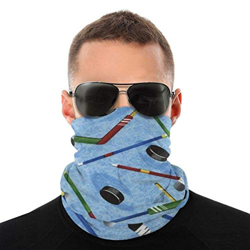 Elizabeth Henry Outdoor-Stirnband, Hockeyschläger Elastic Seamless Bandana Schal, UV-Resistenz Sport Headwear Series