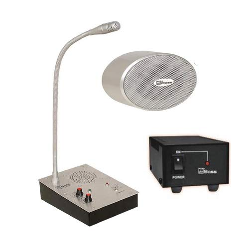 Hitune Bass PA Counter Communication System BCS-2300 for hotel, office, mol, shop, hospital etc.