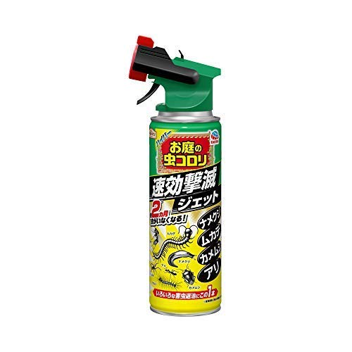 アースガーデン ハイパーお庭の虫コロリ 速効撃滅ジェット 480mL × 10個セット