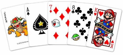 cartes à jouer. Mario . 54 Jeux de Cartes