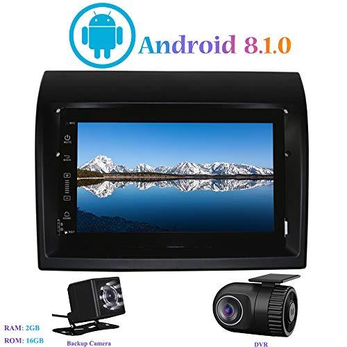 Android 8.1.0 Autoradio, Hi-azul In-Dash 7' Radio de Coche 4-Core Navegación GPS Estereo Car Radio para Fiat Ducato/Peugeot Boxer/Citroen Jumper (con Cámara de Visión Trasera y DVR)
